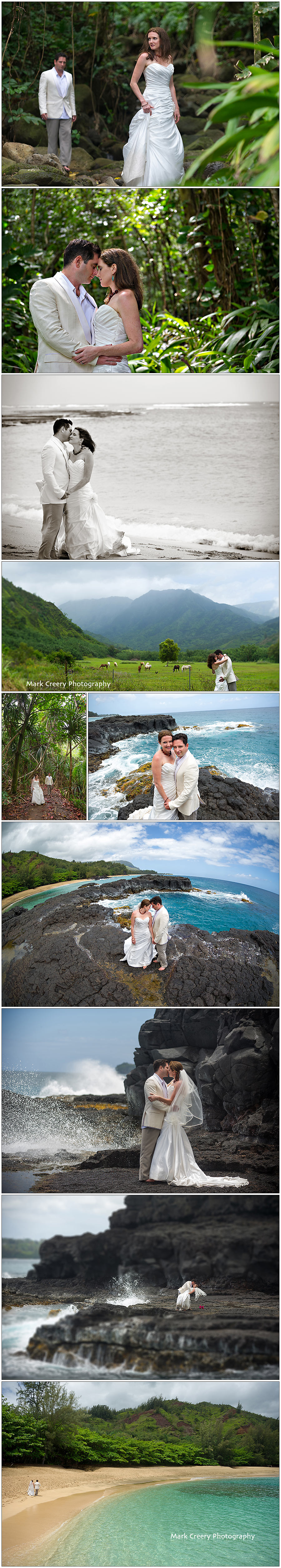 Kauai Wedding Photography, North Shore Kauai