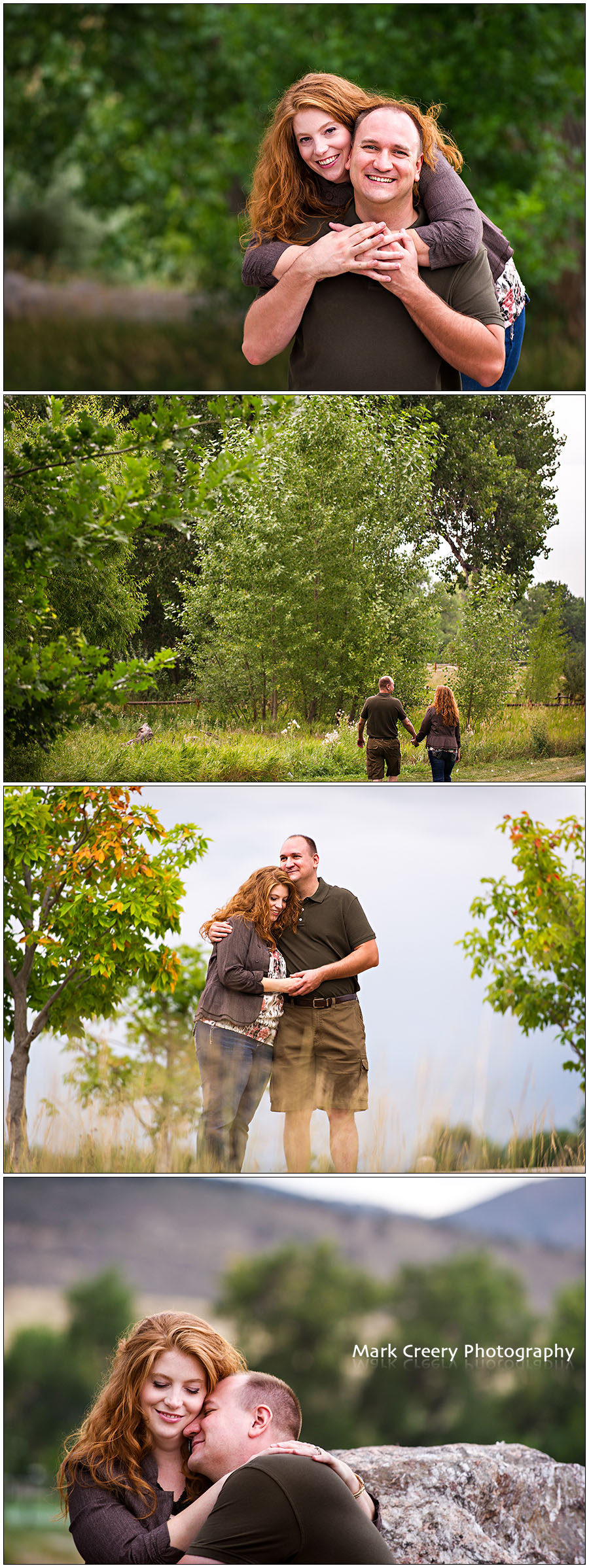 Spring Canyon Park engagement photos