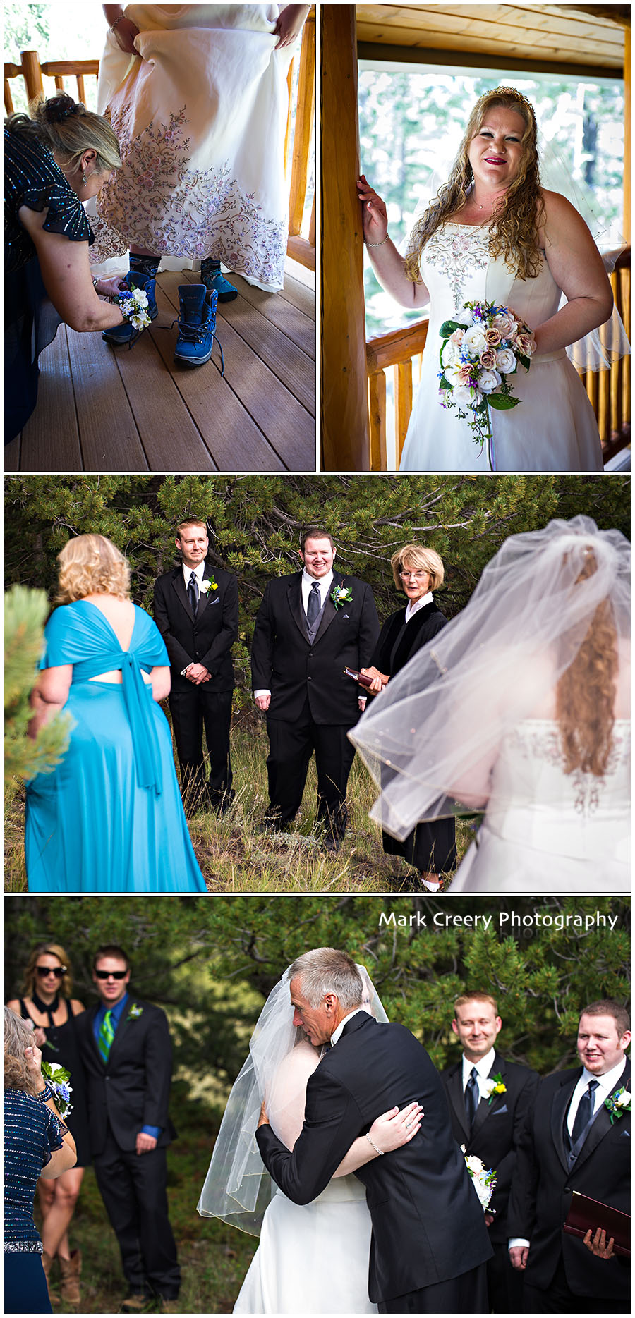 Mueller State Park wedding photos