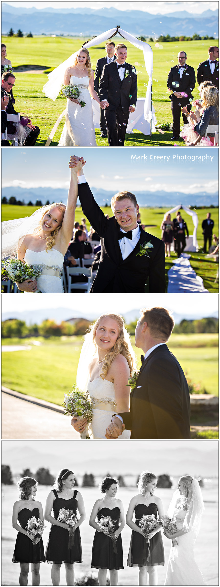 wedding at Colorado National Golf Club