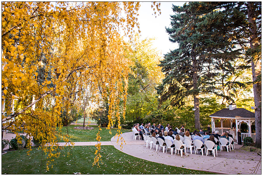 Tapestry House Fort Collins wedding