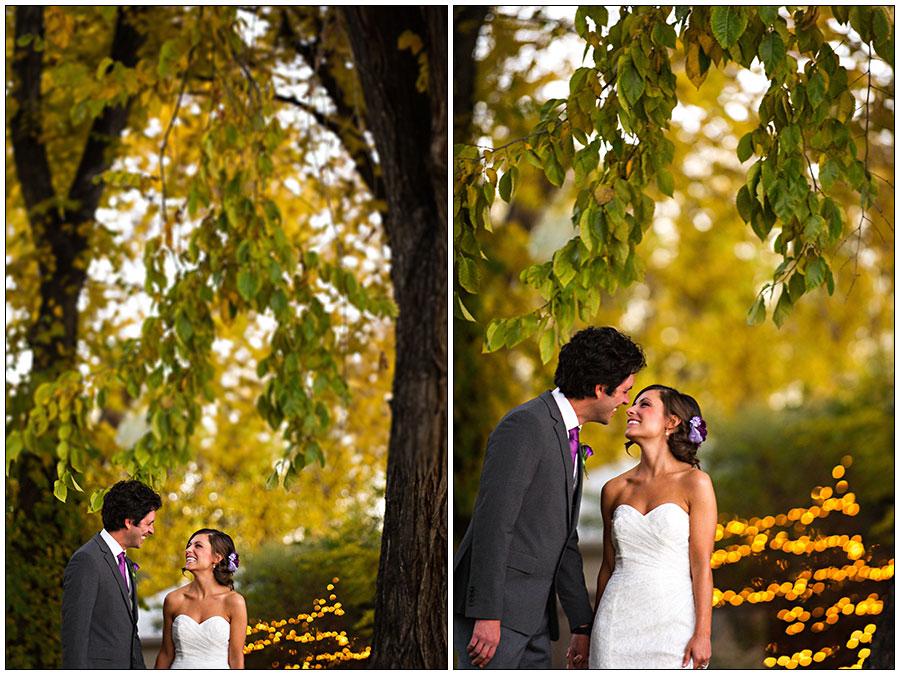 Fall wedding in Colorado