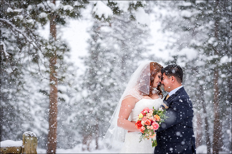 YMCA Estes Park wedding photo