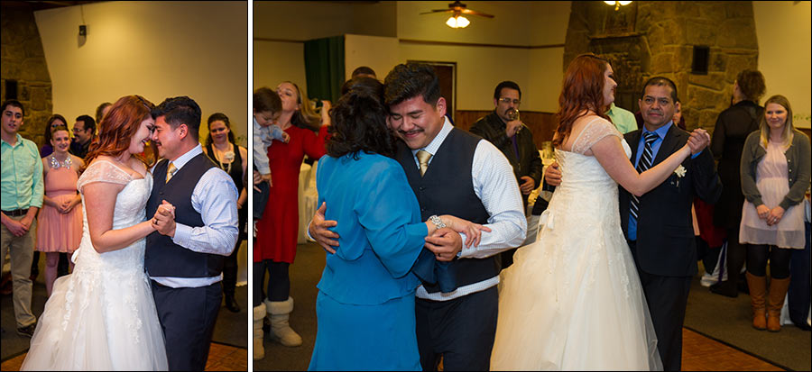 First dance and mother-son wedding photos