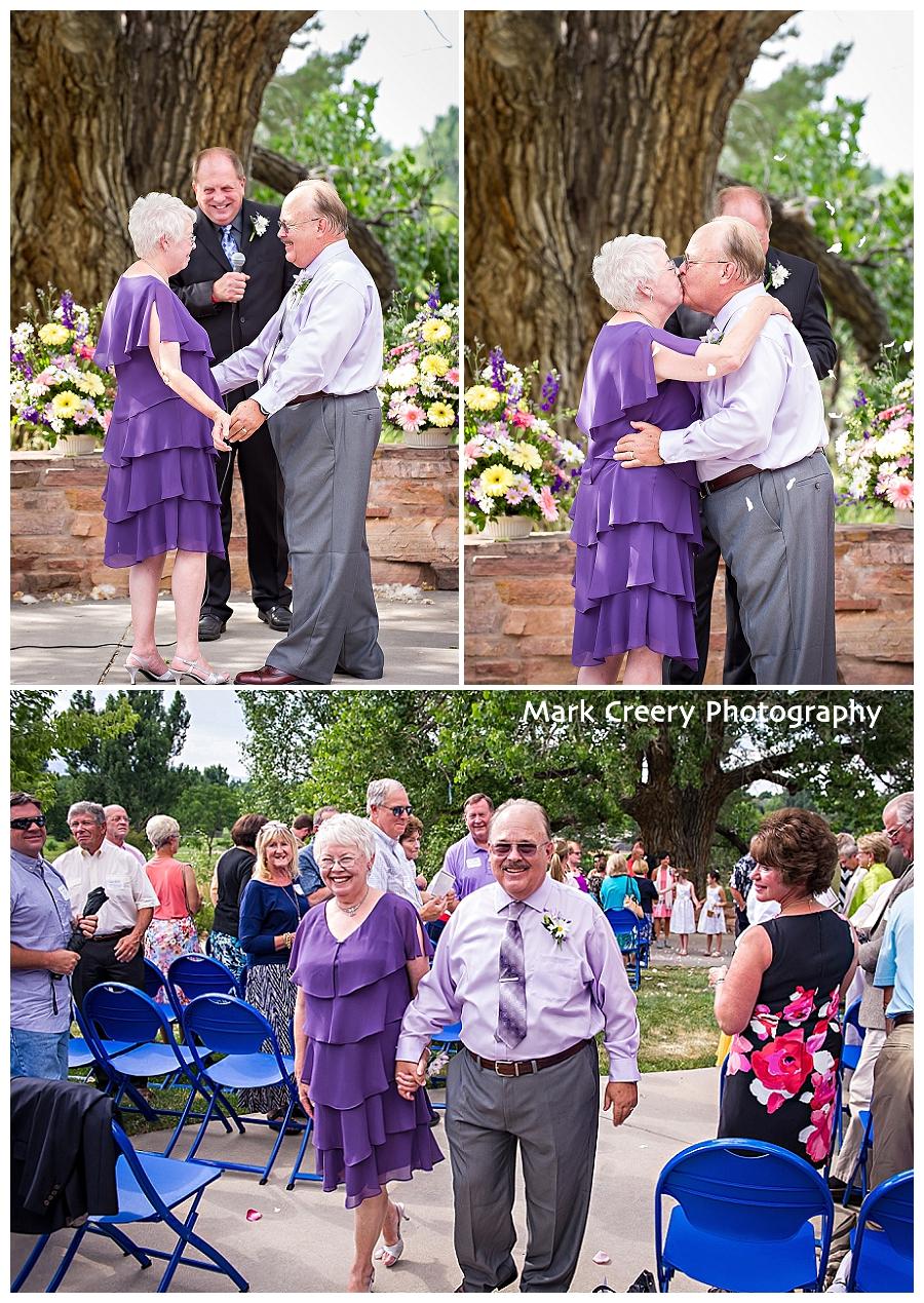 Fort Collins Senior Center wedding