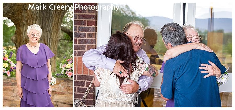 wedding photos at Fort Collins Senior Center