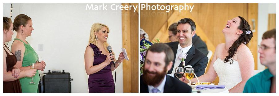 wedding reception photos at McC Ranch